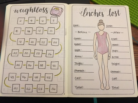 Weight Loss Habit Tracking